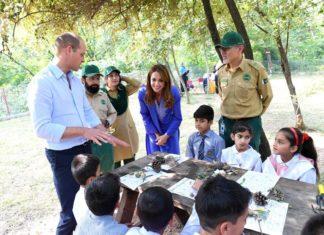 Prince Wiliam and Kate Pakistan
