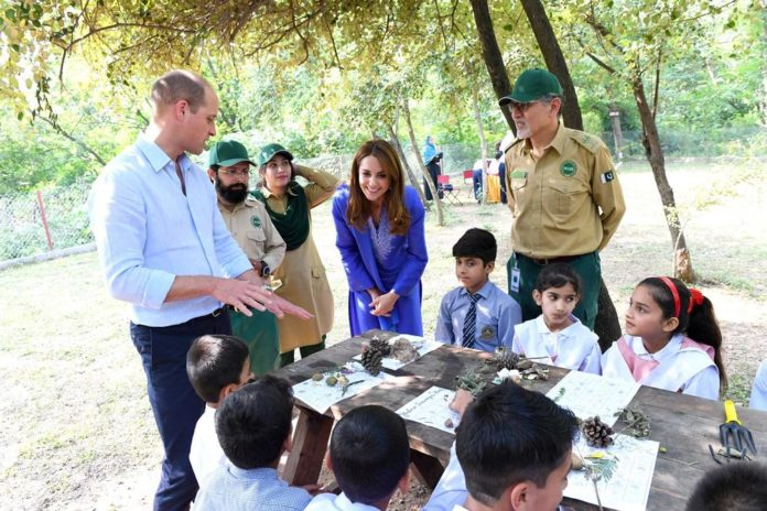 Prince Wiliam and Kate Pakistan