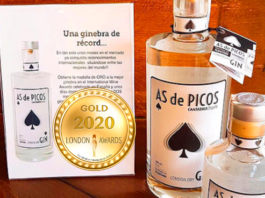 Gin AS de Picos at London Newspaper