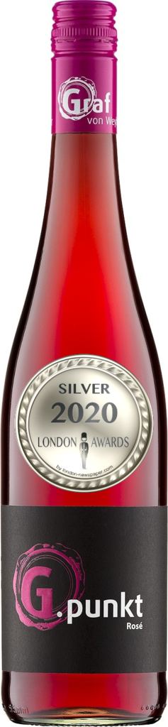 2018 G.Spot Rose Dry was awarded Silver in London Awards 2020, by London Newspaper.