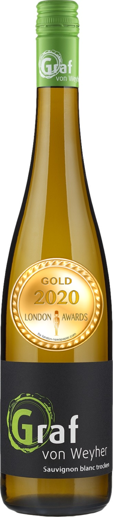 2019 Sauvignon Blanc Dry was awarded Gold in London Awards 2020, by London Newspaper.