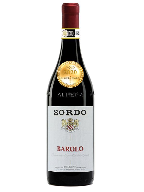 Sordo Barolo has received a Gold Award in London Awards 2020.