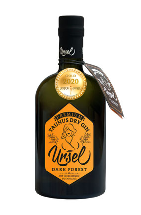 Taunus Dry Gin Ursel Dark Forest has received a Gold Award in London Awards 2020.