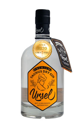 Taunus Dry Gin Ursel Heritage has received a Gold Award in London Awards 2020.