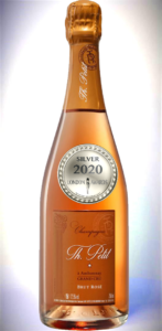 Champagne Grand Cru AOP Brut Rosé has received a Silver Award in London Awards 2020