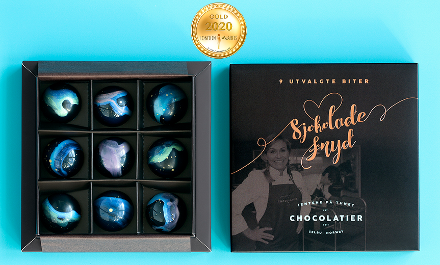 Northern Lights Chocolate has received a Gold Award in London Awards 2020.