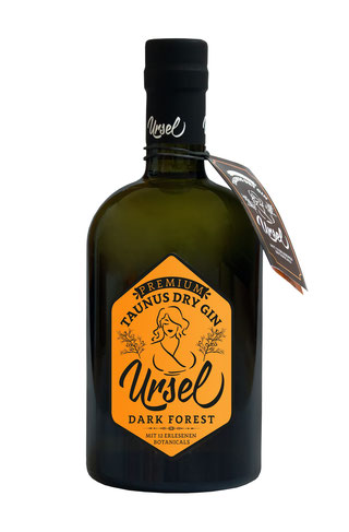 Taunus Dry Gin Ursel Dark Forest has received a Gold Award in London Awards 2021, awarded by London Newspaper.