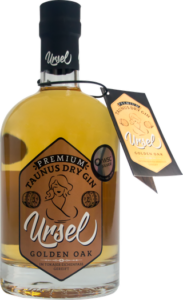 Taunus Dry Gin Ursel Golden Oak has received a Gold Award in London Awards 2021, awarded by London Newspaper.