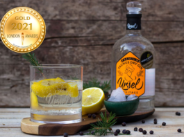 Ursel Premium Gin at London Newspaper