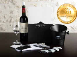 Vignobles Gabriel & Co at London Newspaper