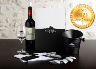 Vignobles Gabriel & Co at London Newspaper