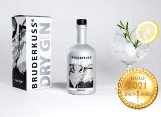 Bruderkuss Dry Gin at London Newspaper